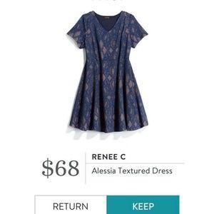 Renee C. - Alessia Textured dress